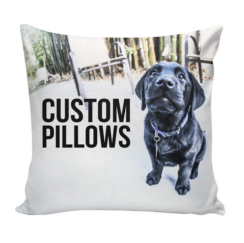Custom Pillow Using Your Art Photos Patterns Ink Wells