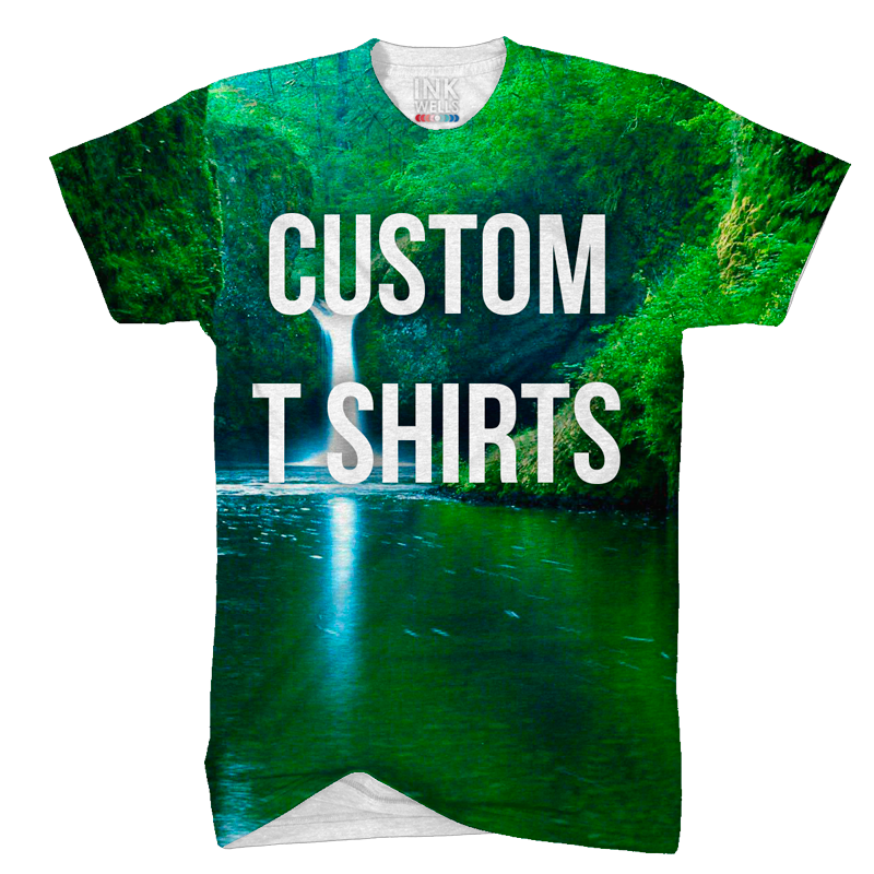 Custom t shirt ink wells for Website where you can design your own shirt