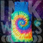 Neon Tie Dye Tank Top