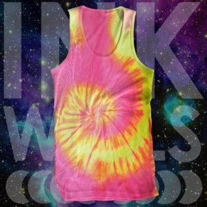 Tie Dye Flo Swirl Tank Top