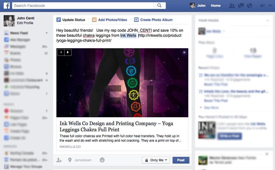 Rep Program Facebook