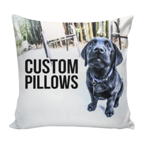 Create a Custom Pillow with your own design