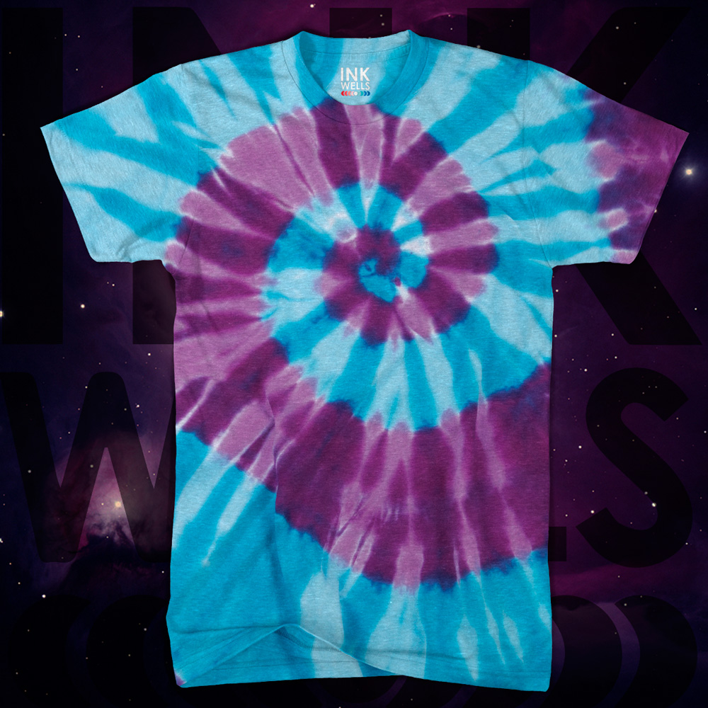 Hand Dyed Tie Dye Shirt Ink Wells