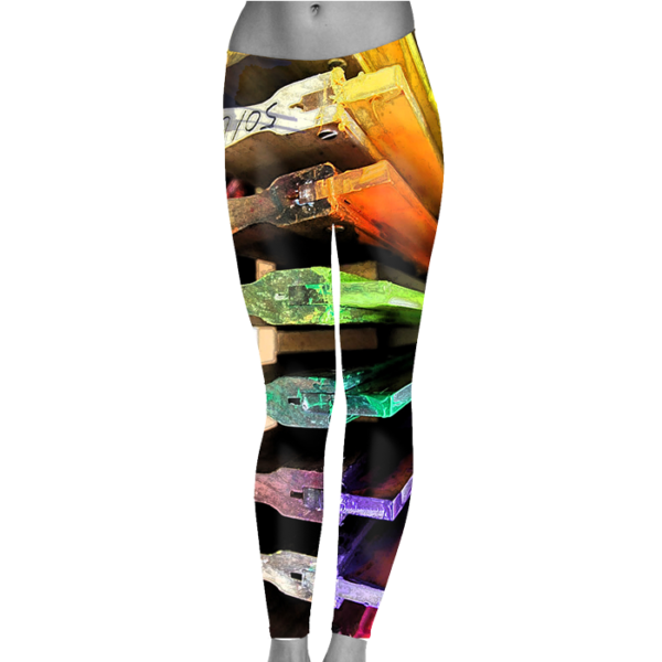 Printed Leggings, Custom Yoga Leggings