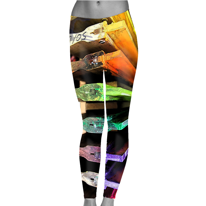 Custom Printed Leggings | Ink Wells