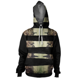 Chicago Hoodie, Full Sublimation Print Hoodie