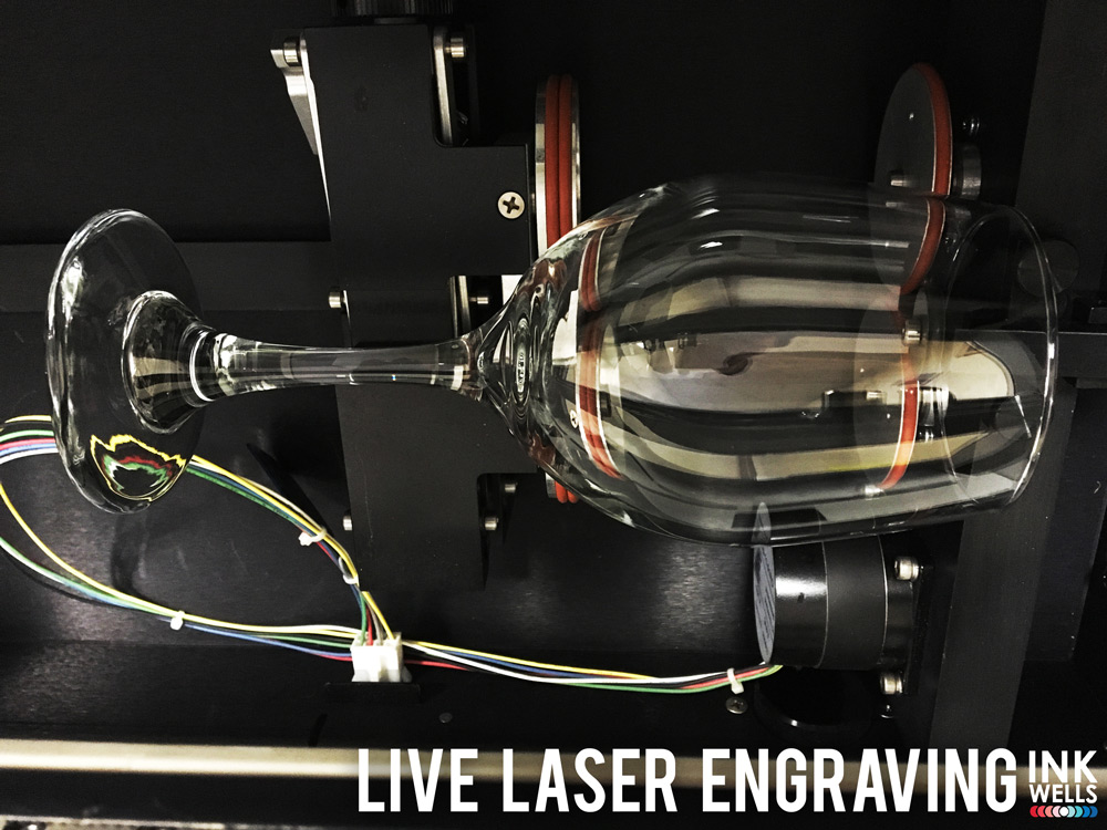 Live Laser Engraving Glass