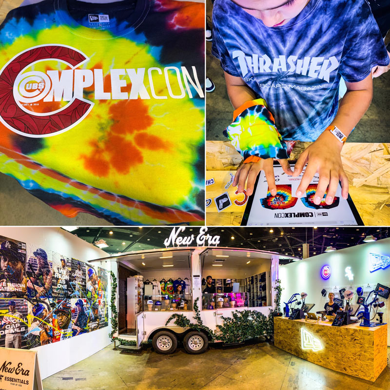 Live Instacure Printing with New Era at Complexcon | Ink Wells