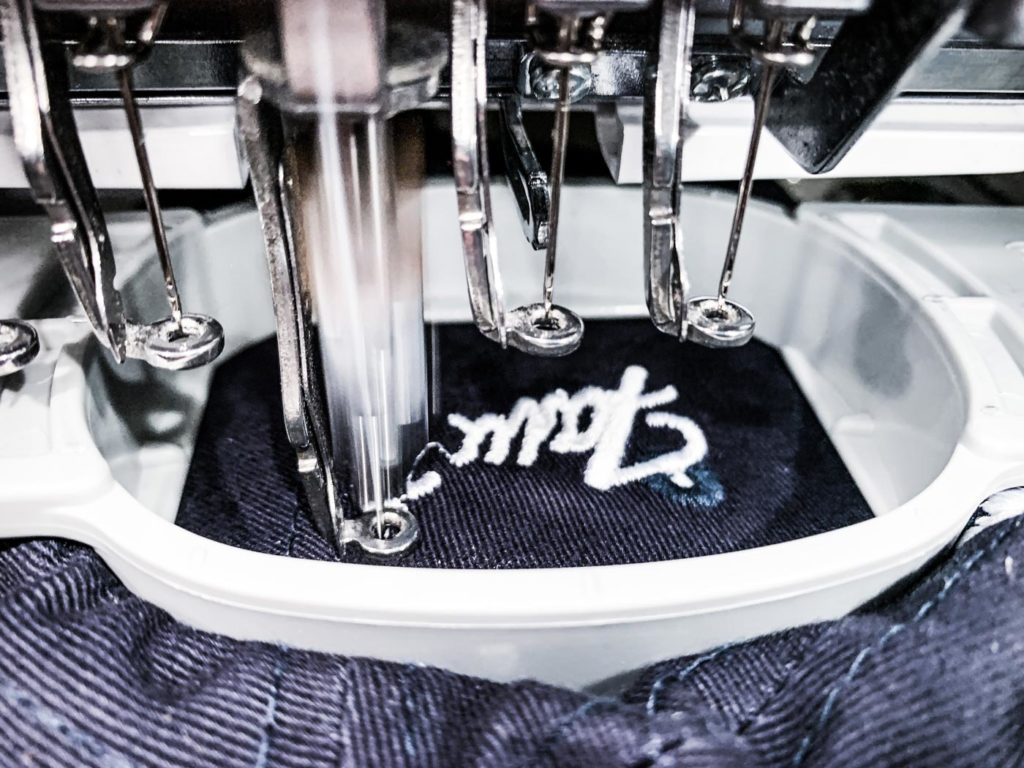 Custom Embroidery On Site