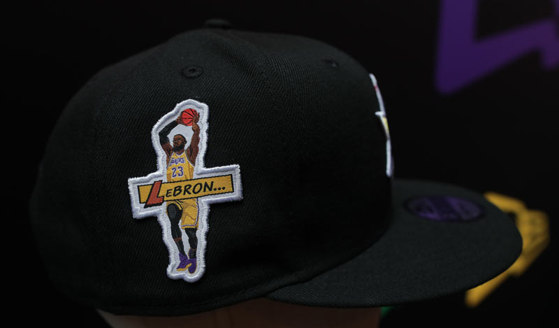 Lebron James Custom New Era Player Cap | Ink Wells