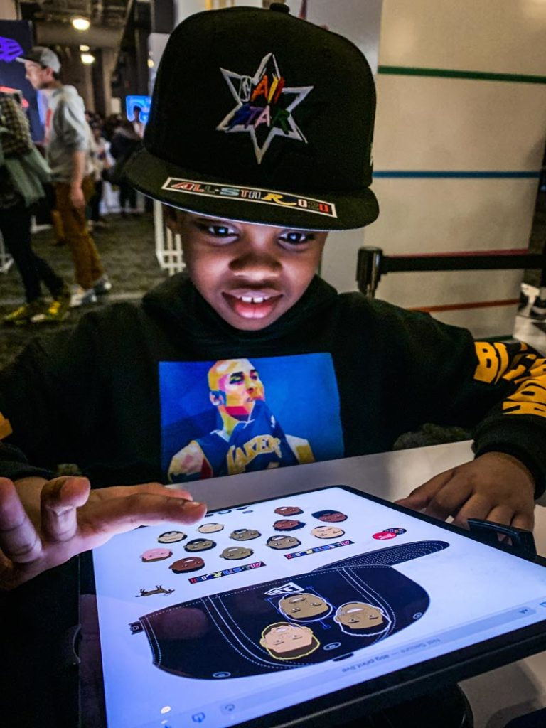 Live Printing with New Era at NBA All Star | Ink Wells