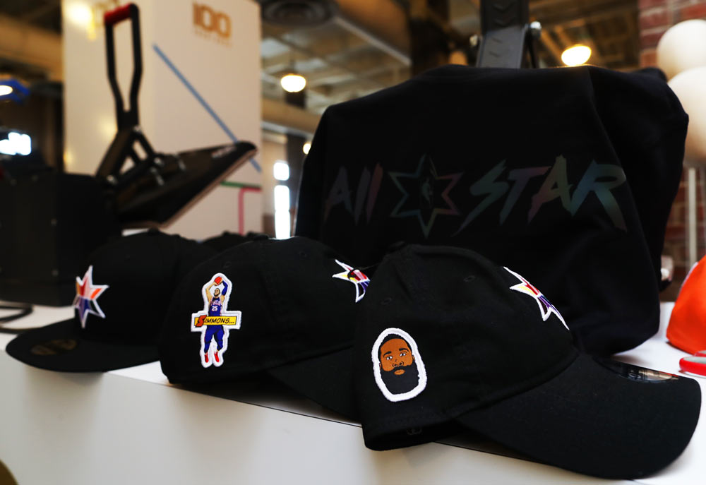 NBA All Star Player Caps | Ink Wells