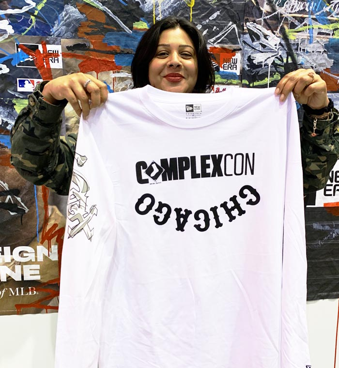 On Site Custom Shirt Printing in Chicago at Complexcon